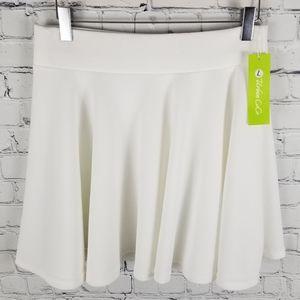 URBAN COCO   textured circle / skater skirt